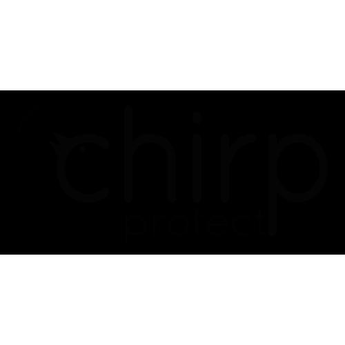 Chirp Logo - Black - 500 sqr